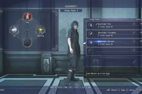 Final Fantasy XV Elemancy Guide – How To Make The Most Powerful Spells