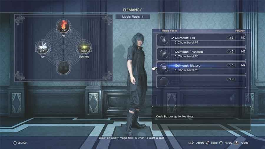 Final Fantasy XV Elemancy Guide - How To Make The Best Spells