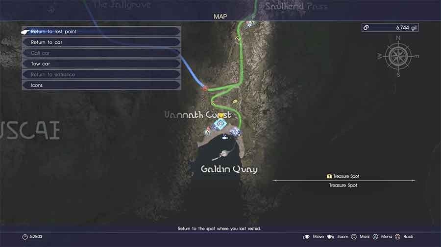 Galdin Quay Treasure Spot #2
