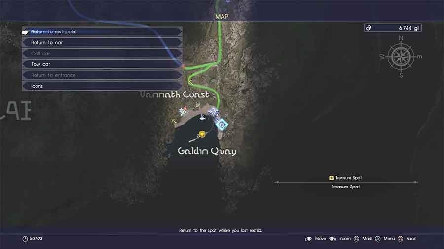 Galdin Quay Treasure Spot #3