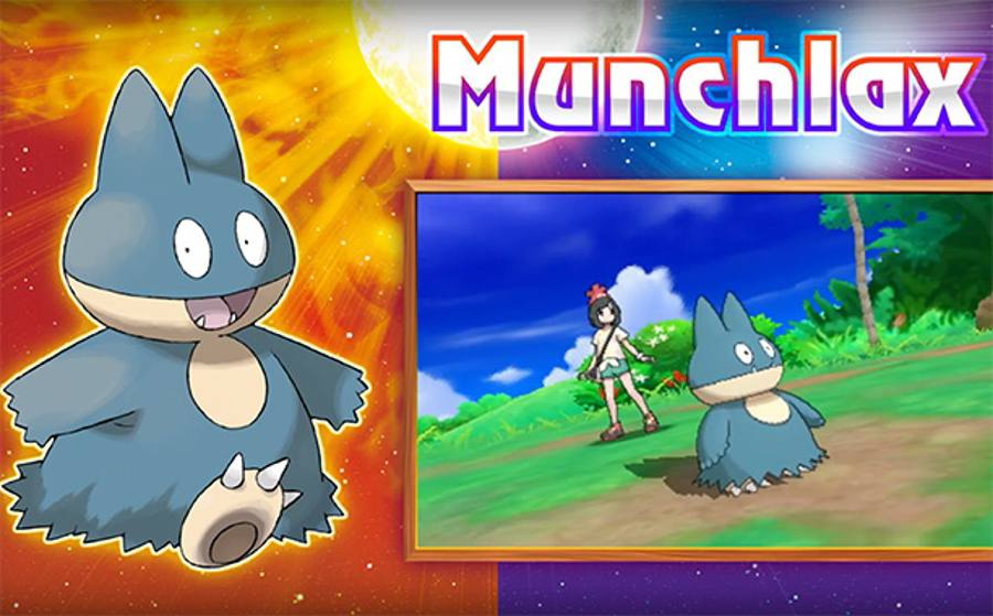 How To Get Your Pre-order Munchlax In Pokemon Sun And Moon