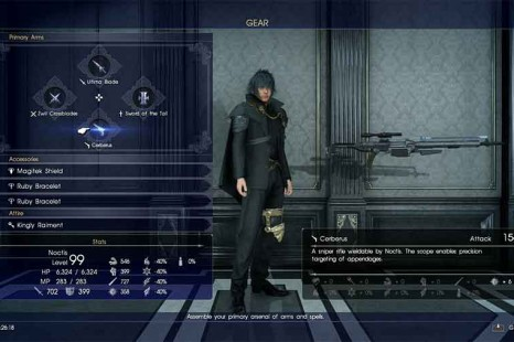 Where To Find The Cerberus Rifle In Final Fantasy XV – The Only Sniper Rifle In The Game
