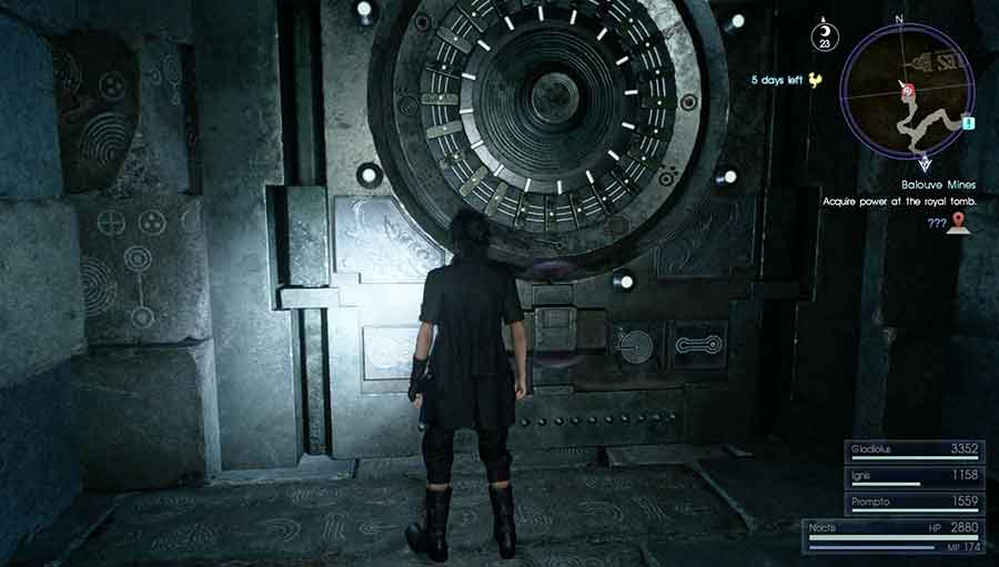 How To Unlock The Special Doors Inside Final Fantasy Xv S Dungeons Dungeon Seal Key