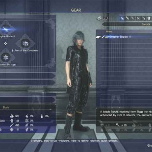 What Does The Yellow Plus Icon Next To Weapons Mean In Final Fantasy XV?