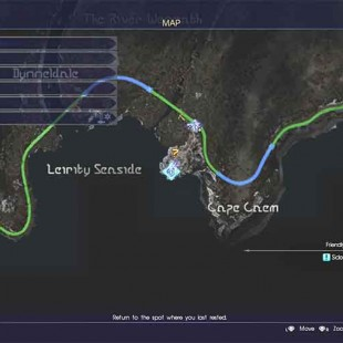 Where To Find The Sky Gemstone In Final Fantasy XV For The Circular Saw