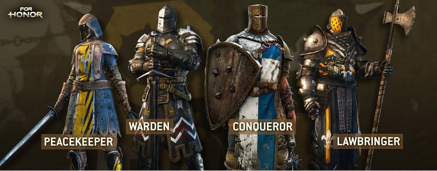For Honor Introduces The Lawbringer