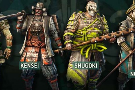 For Honor Nobushi Class Trailer Released