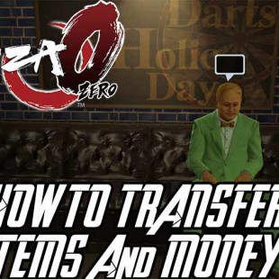 How To Transfer Money And Items Between Characters Kiryu And Majima In Yakuza 0