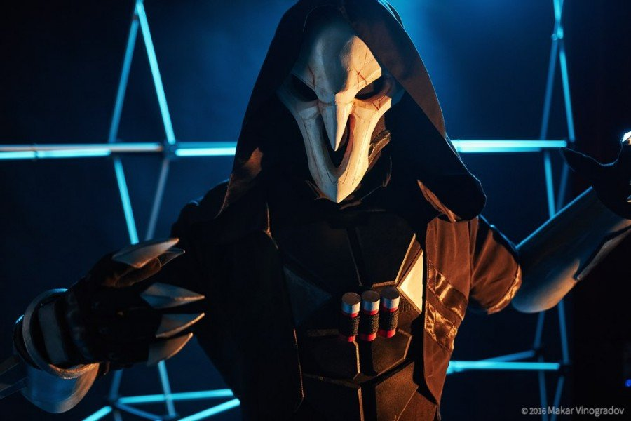 Overwatch Reaper Cosplay - Gamers Heroes