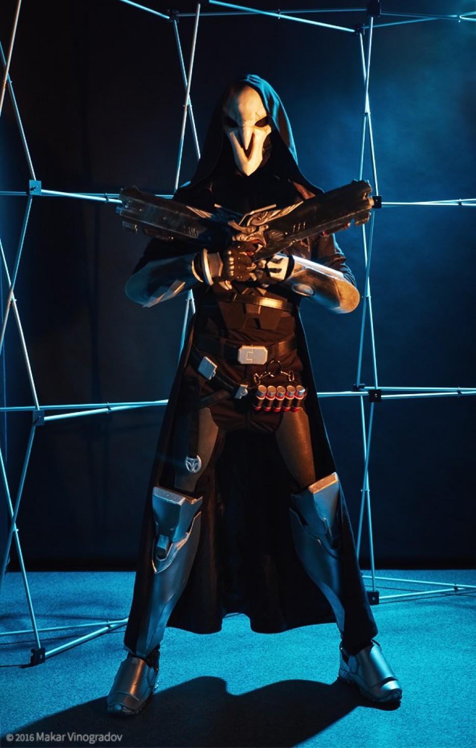 cosplay wednesday overwatch s reaper gamersheroes