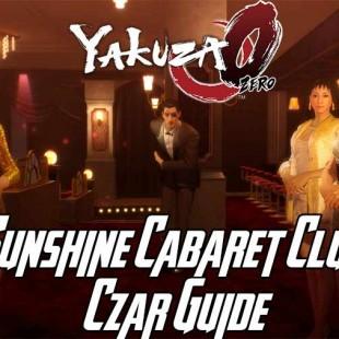 Yakuza 0 Sotenbori Sunshine Cabaret Club Czar Guide