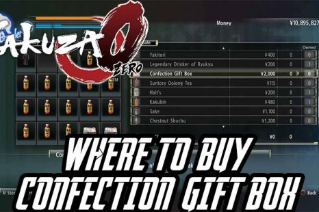 Where To Buy The Confection Gift Box In Yakuza 0