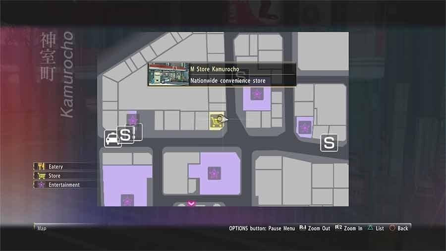 Where To Buy The Confection Gift Box In Yakuza 0 Location