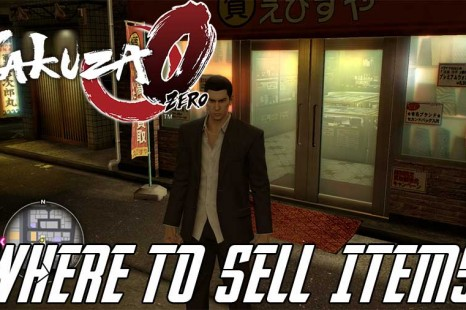 Where To Sell Items In Yakuza 0