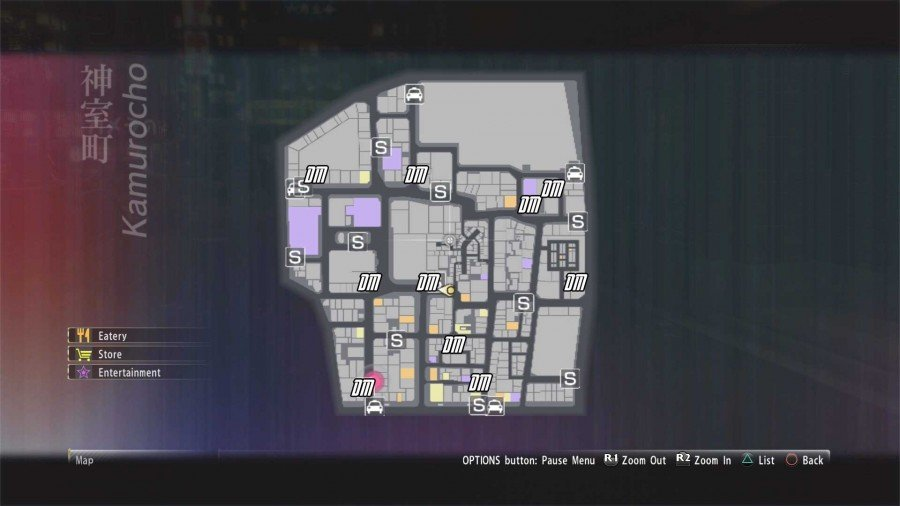 Where To Find All Dream Machines In Yakuza 0