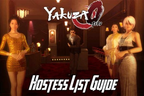 Yakuza 0 Hostess List Guide – Get The Best Hostesses