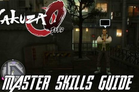 Yakuza 0 Master Ability Guide – Learning All The Skills