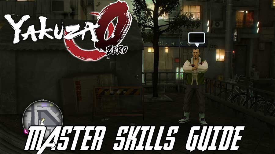 Yakuza 0 Master Ability Guide - Learning All The Skills