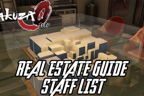 Yakuza 0 Real Estate Staff List Guide – Get The Best Staff