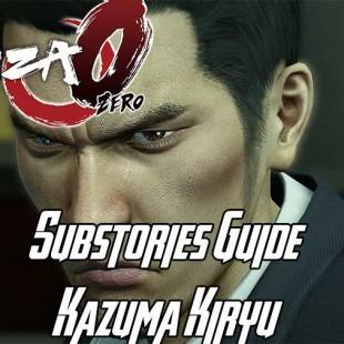Yakuza 0 Substories Guide – Kazuma Kiryu