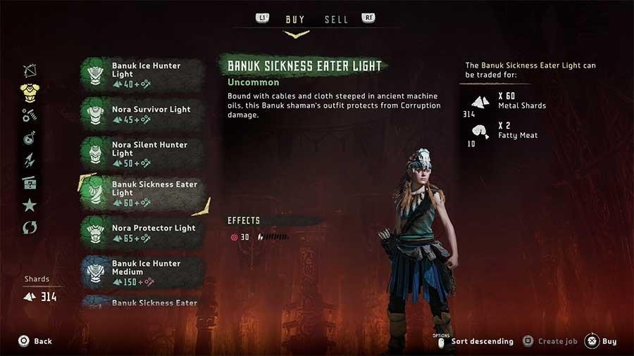 Banuk Sickness Eater Light