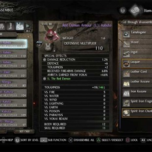 How To Farm Purple Items And Exotic Forge Materials In Nioh
