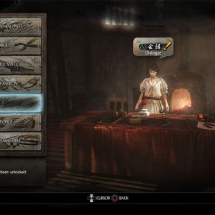 How To Unlock Hair Option In Nioh And Upgrade The Blacksmith