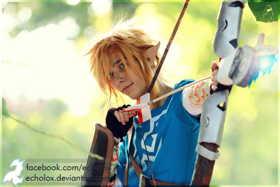 Link Breath of the Wild Cosplay - Gamers Heroes