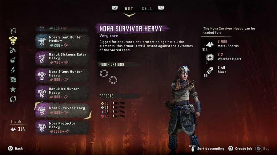 Nora Protector Heavy