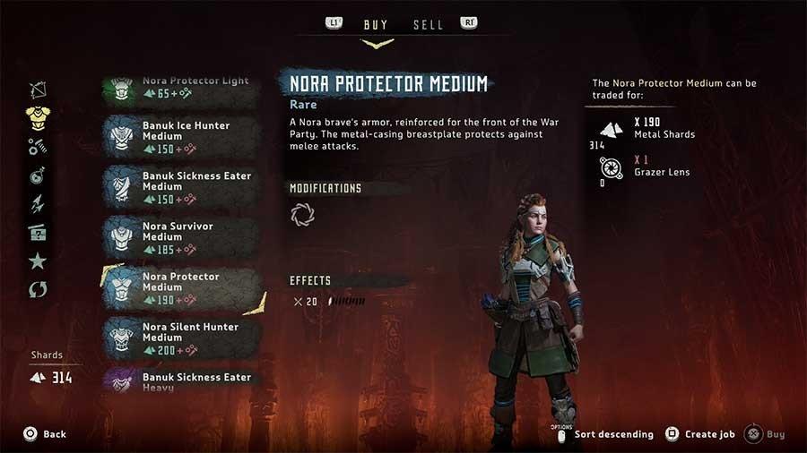 Nora Protector Medium