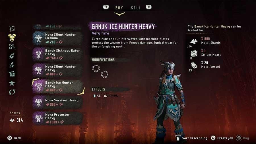 Nora Survivor Heavy