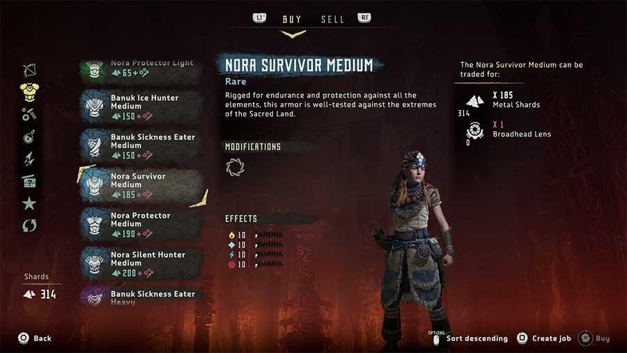 Nora Survivor Medium