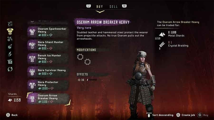 Oseram Arrow Breaker Heavy
