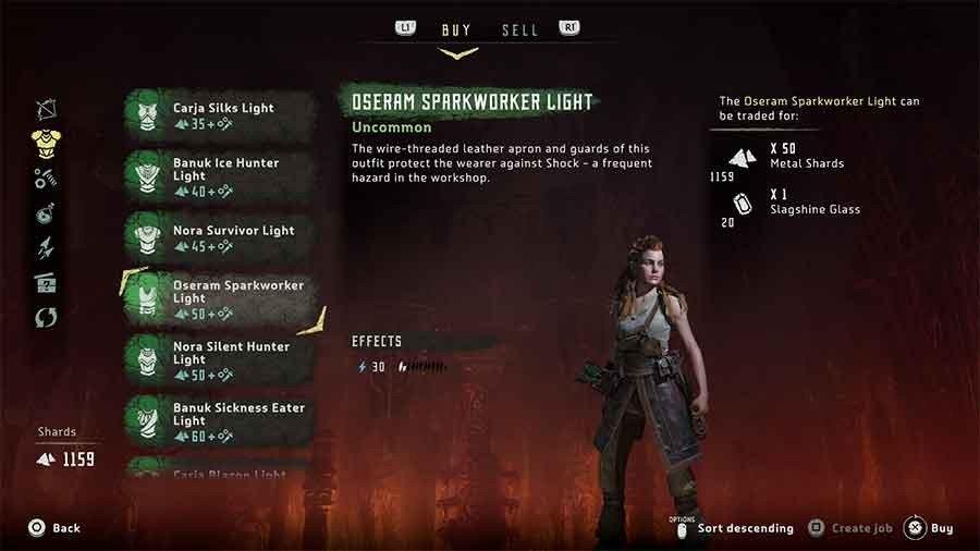 Oseram Sparkworker Light