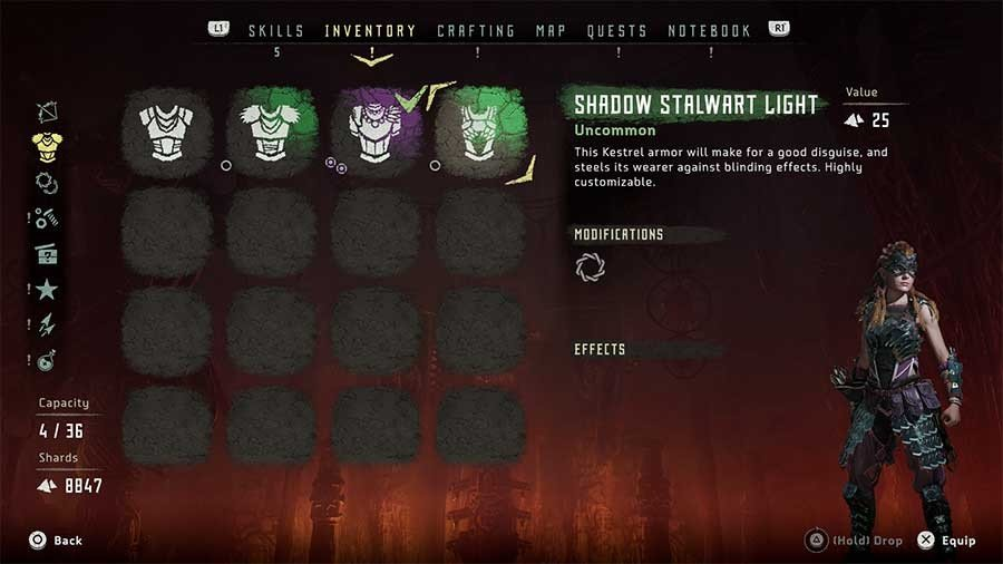 Shadow Stalwart Light