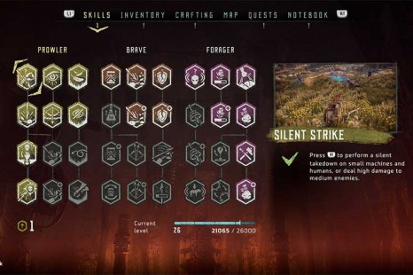 What Skills To Choose At The Start Of Horizon Zero Dawn
