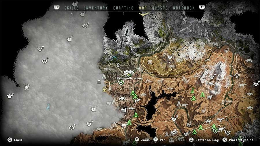 Where To Find Behemoth