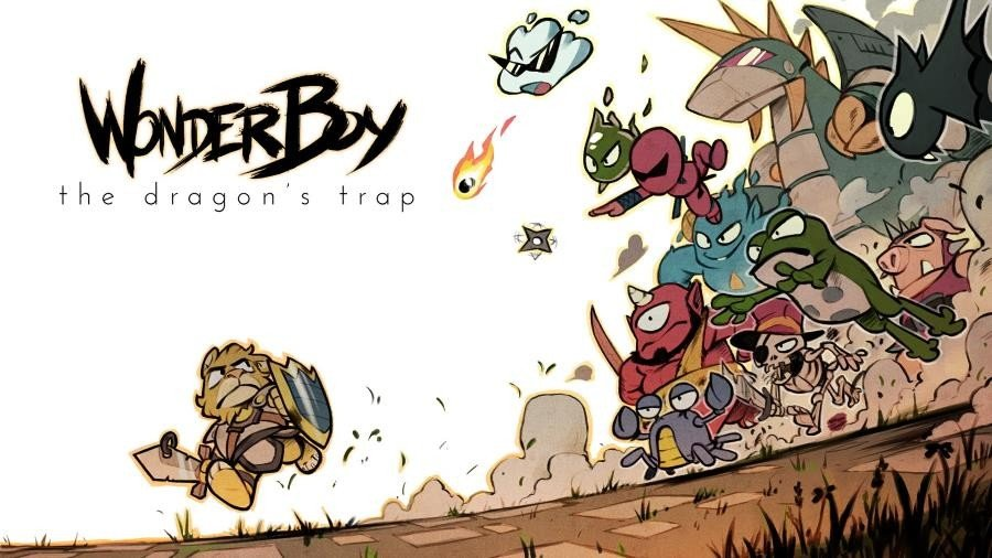 Wonder Boy The Dragon's Trap - Gamers Heroes