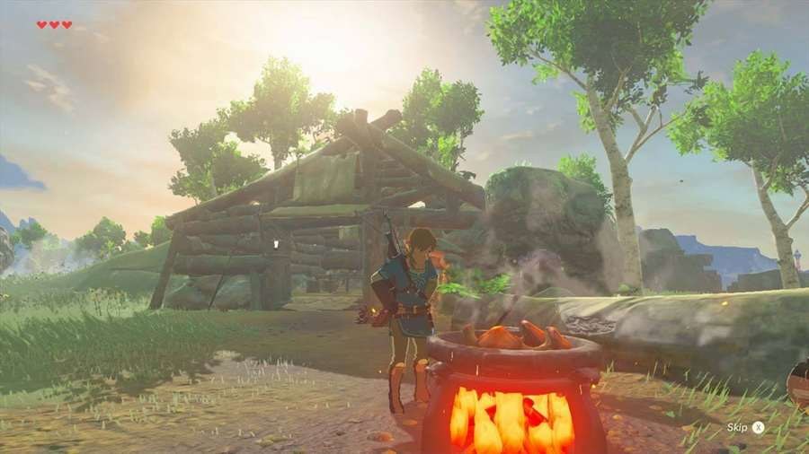 Breath Of The Wild Cooking
