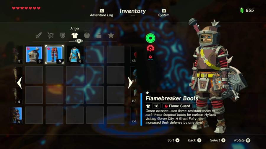 Breath Of The Wild Flamebreaker Armor