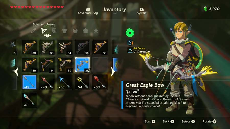 Breath Of The Wild Great Eagle Bow