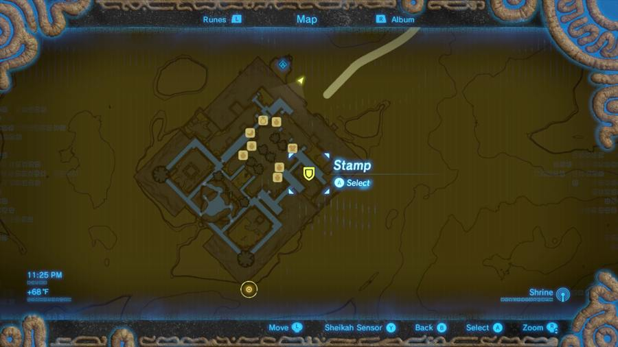 Breath Of The Wild Where To Find Radiant Armor