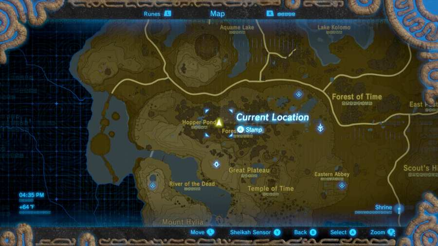 Breath Of The Wild Where To Find Stone Talus