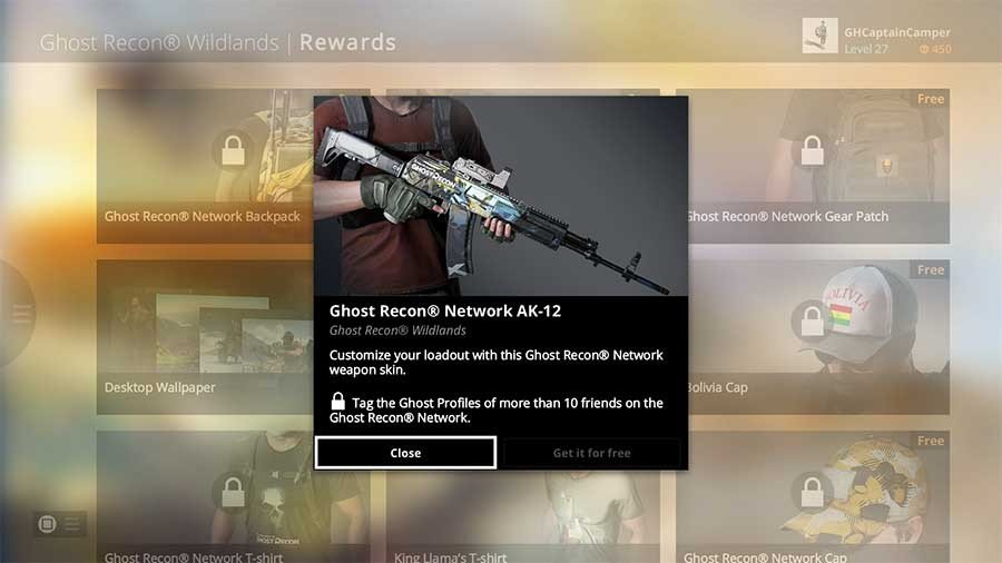 Ghost Recon Wildlands Unlock All Weapons - AK12