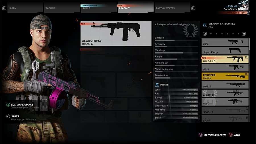 Her AK-47