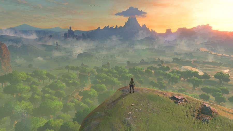 How To Get Through The Lost Woods In Zelda Breath Of The Wild