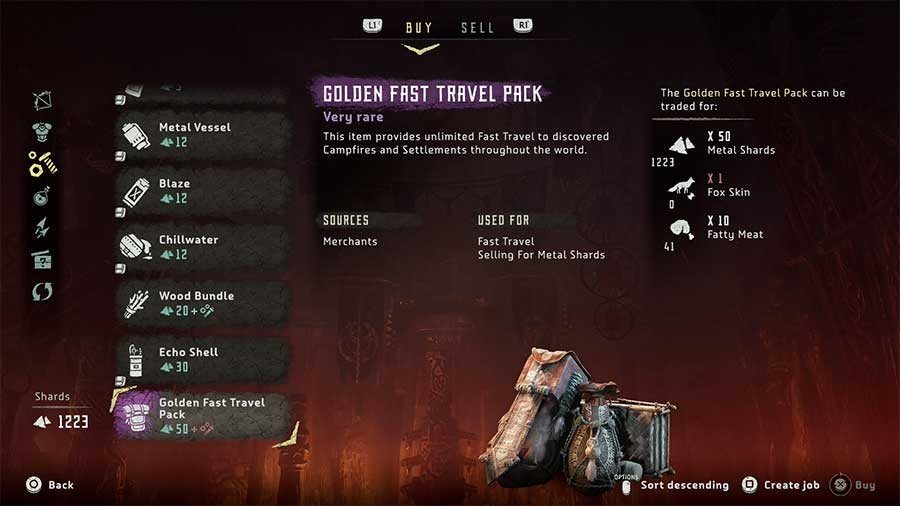 How To Get Unlimited Fast Travel In Horizon Zero Dawn