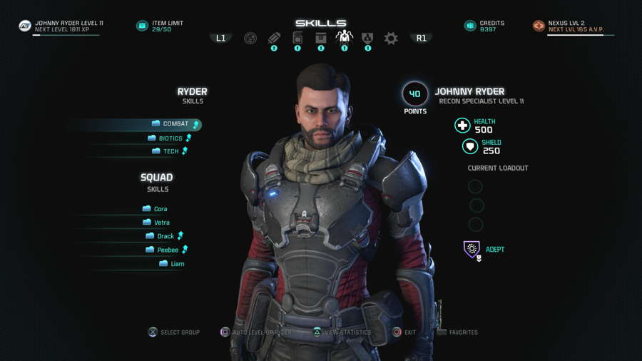 How To Respec In Mass Effect Andromeda