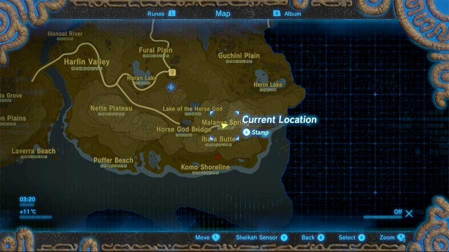 How To Revive Your Horse If It Dies In Zelda Breath Of The Wild Location