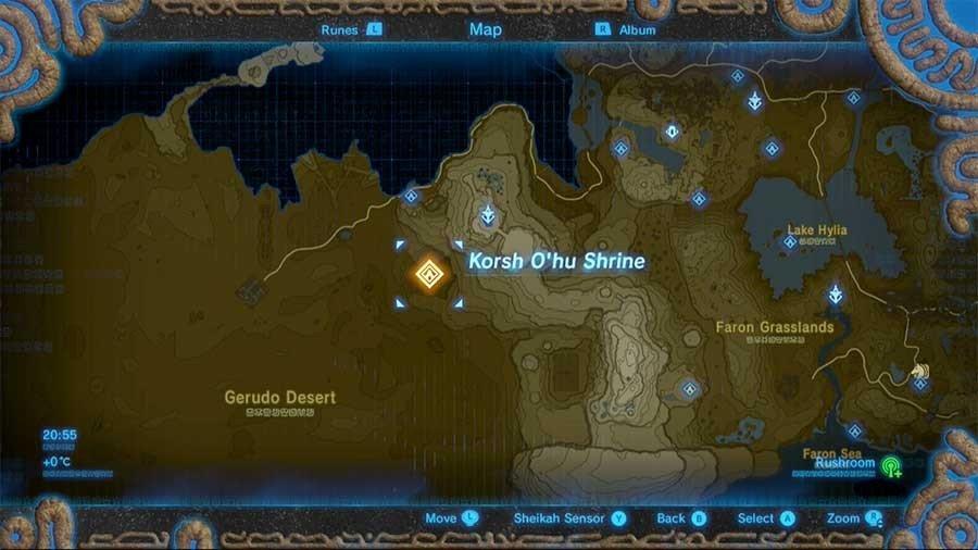 Korhso Ohu Shrine (Gerudo Desert)